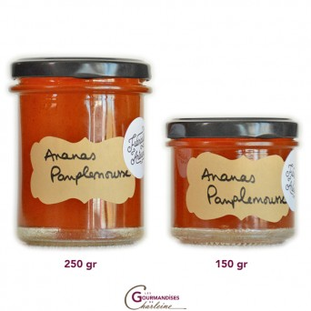 Confiture Ananas Pamplemousse